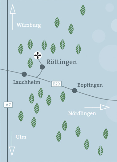 Anfahrt Waldruh Ostalb