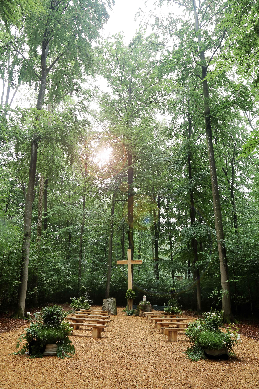 Andachtsplatz der Waldruh Ostalb
